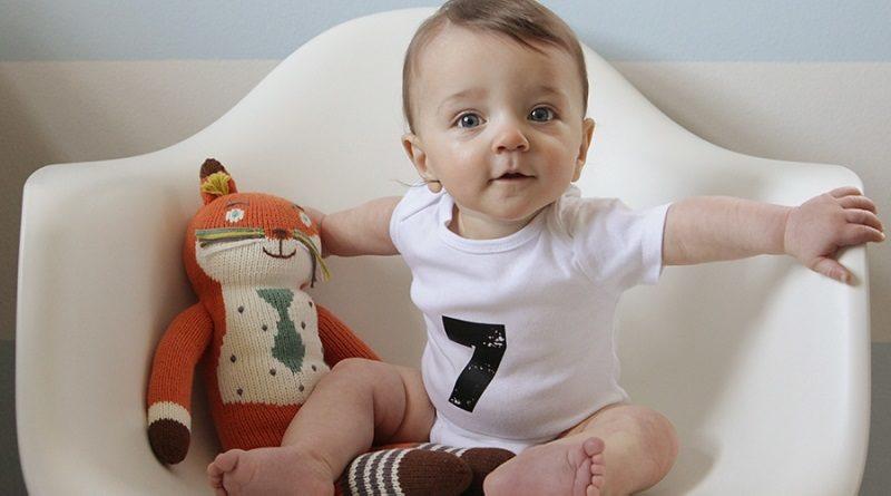 7 month baby milestones and development