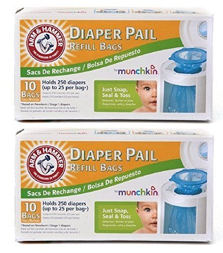 Munchkin diaper pail refills