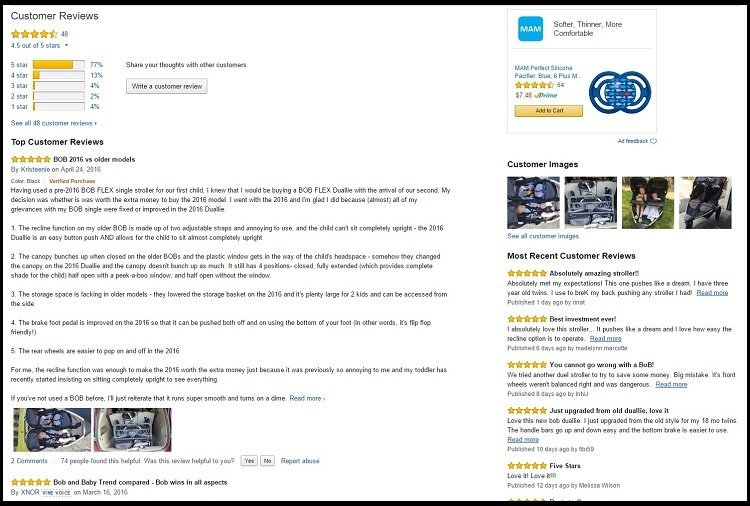 baby stroller reviews