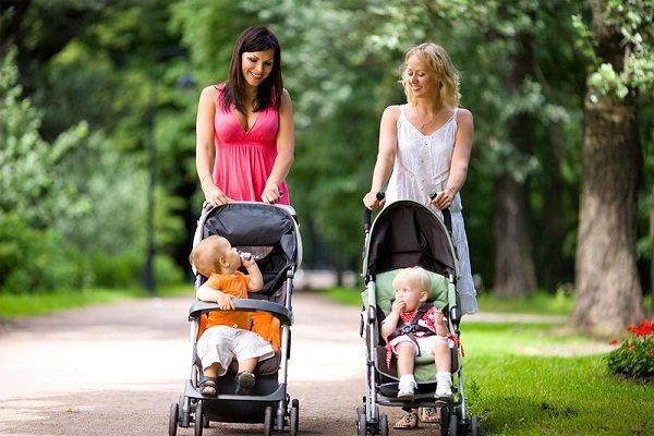 Strolling is easy with the right stroller