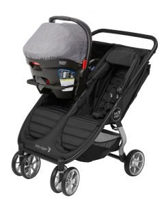double stroller for britax car seat