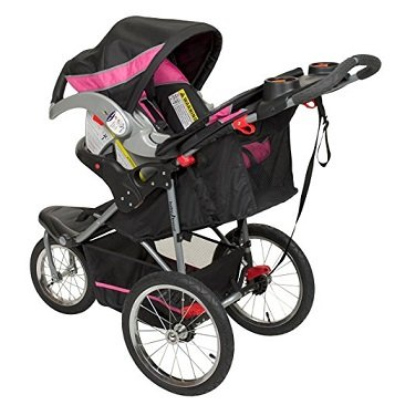 side view of stroller